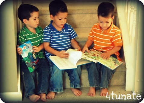 kids reading bible