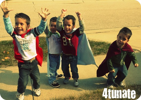 little boy superheros
