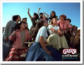 sandy in grease