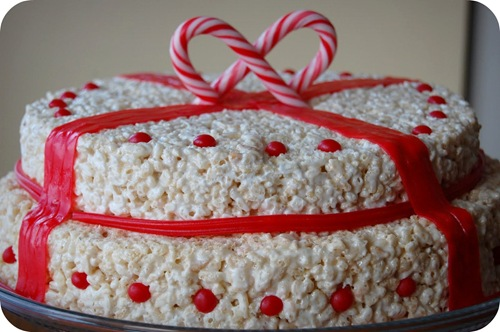 rice krispies treat christmas recipe