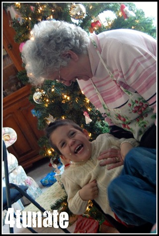 memories with grandma at christmas