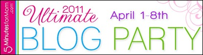ultimate blog party logo