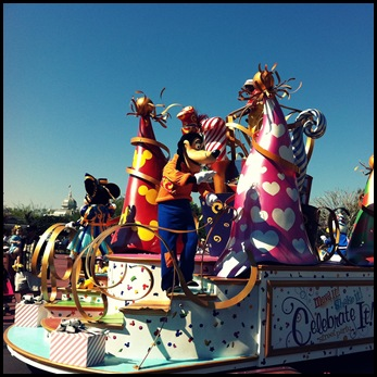 walt disney world magic kingdom parade celebrate