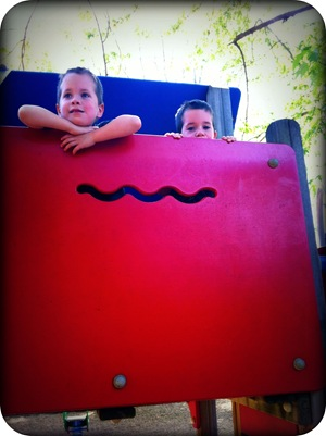 spring playdates at the park