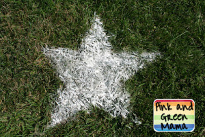 sifted flour 4th of july lawn stars
