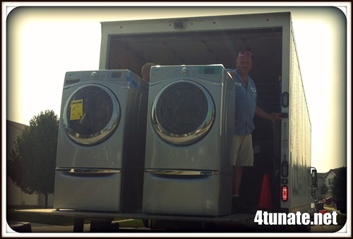 whirlpool duet washer and dryer delivery