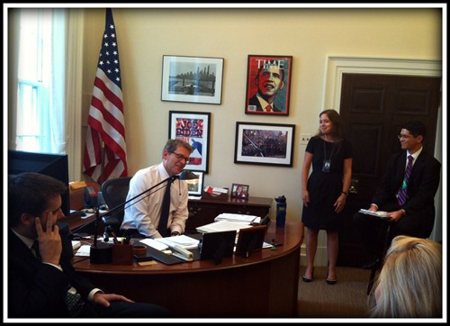 Press Secretary Jay Carney Office