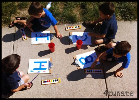 art activities for letter recognition