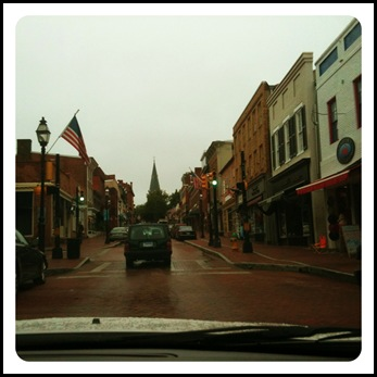 downtown annapolis in the fall
