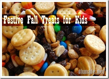 7 Fall Treats for Kids {And Their Parents} | 4tunate