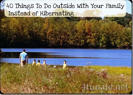 Things to Do Outside with Your Family