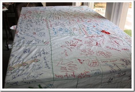 thanksgiving tablecloth grateful for