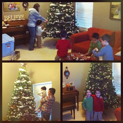 tips for decorating the tree with kids