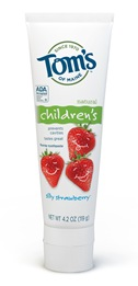 tom's of maine silly strawberry natural toothpaste