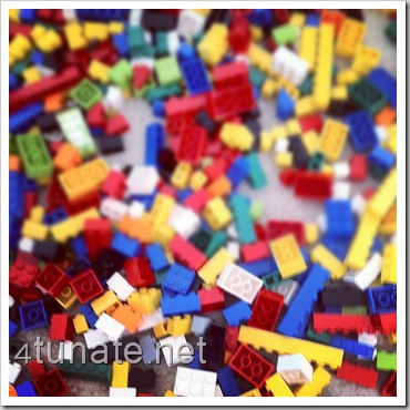 easy tip for cleaning up legos