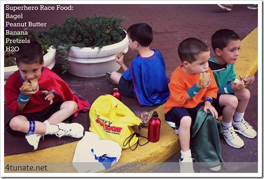race food for kid runners