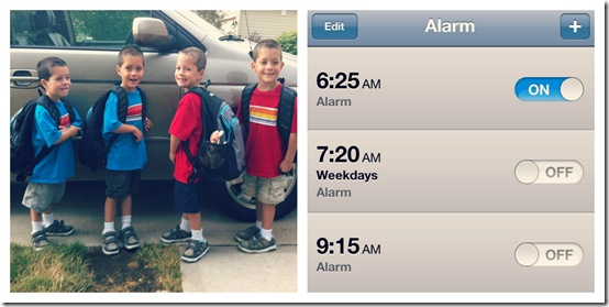 family getaways leaving early morning collage .jpg