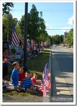 small town processional for marine hero