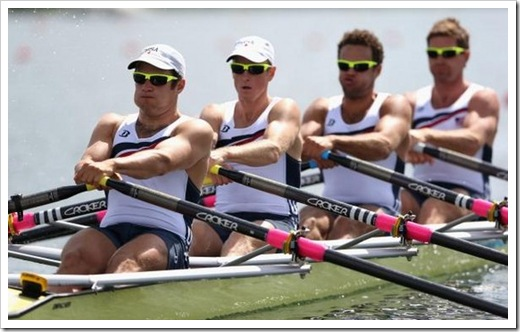 4 man rowing olympic games london 2012