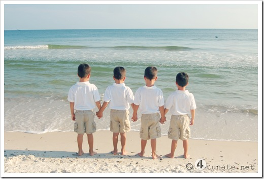 brothers on the beach family picture gulf shores