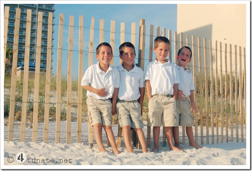 how to get a good beach family portrait