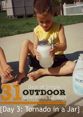 simple outdoor adventures for boys day 3 make a tornado. Black Bedroom Furniture Sets. Home Design Ideas