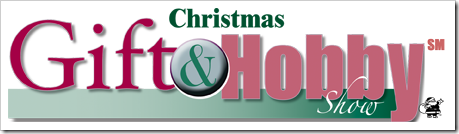 christmas gift and hobby show logo