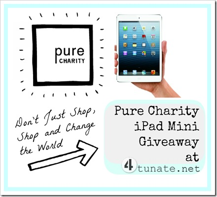Pure Charity iPad Mini Giveaway
