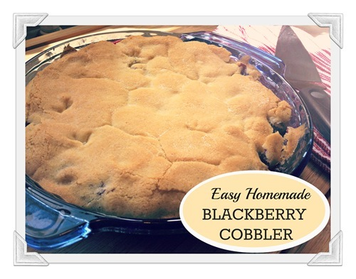 best of 2012 blackberry cobbler