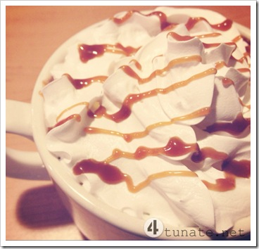 caramel hot chocolate ihop