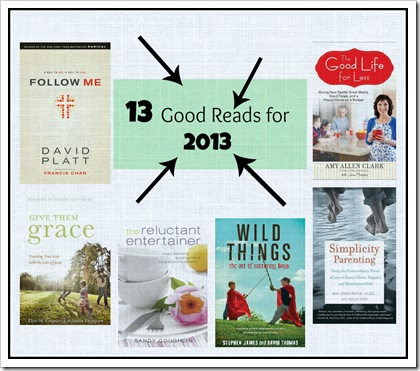 13 Good Reads for 2013