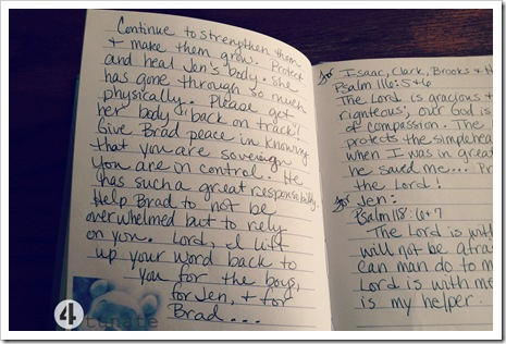 pregnancy prayer journal
