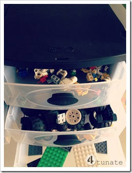 LEGO Drawer Organization System for Small Pieces