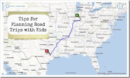 tips for planning road trips with kids