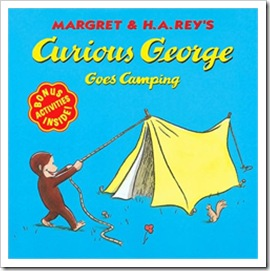 curious george goes camping - margret & h.a. reys