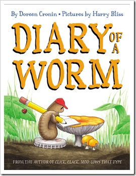 the diary of a worm - doreen cronin