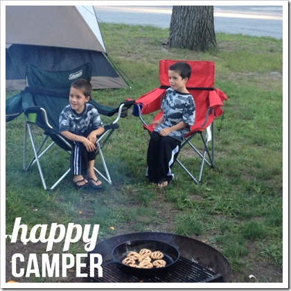 happy camper kids