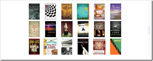 kindle lending library book selections