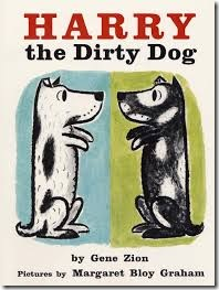 favorite library books - Harry the Dirty Dog
