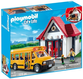 playmobil school set amazon deal