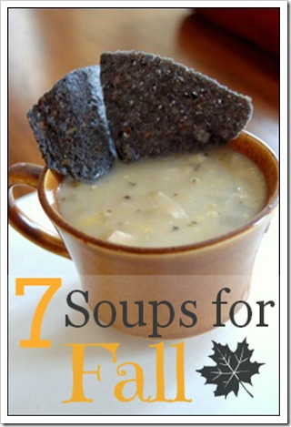7 Soups for Fall Recipe Roundup