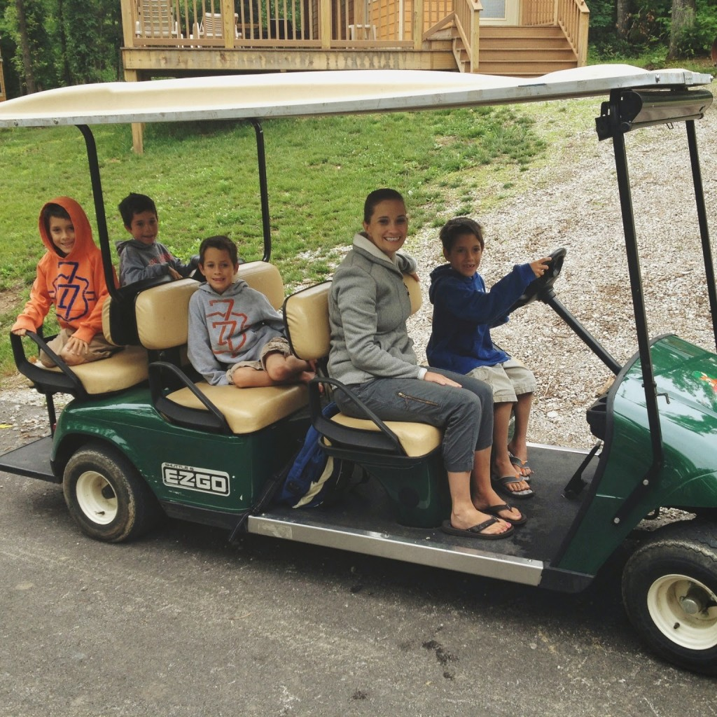 golf-cart-rental-lake-rudolph-campground-holiday-world