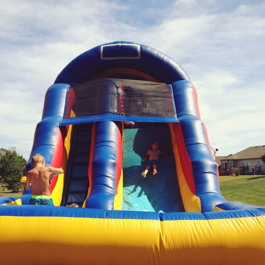 4th-of-july-backyard-waterslide