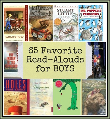 65ReadAloudBooksforBoys