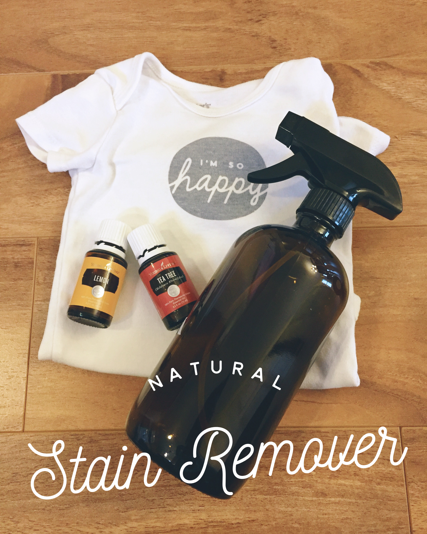 DIY Natural Stain Remover Spray